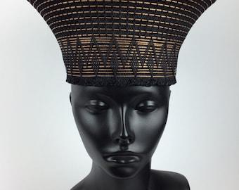 Stylish Zulu Hat handmade in South Africa
