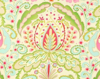 Kumari Garden Teja Pink Dena Designs -  cotton quilting fabric by the yard
