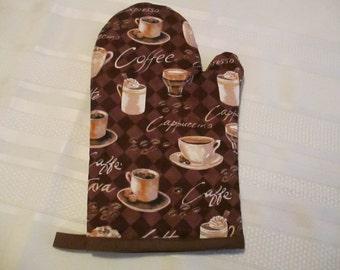 Cafe Mocha Oven Mitt