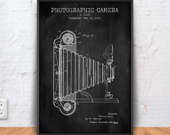 Old camera blueprint etsy photographic camera patent print vintage camera poster old camera print camera blueprint malvernweather Gallery