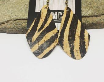 Lightweight Cork Earrings