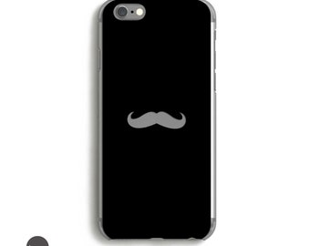 iPhone 7 Case Men, Mustache, iPhone 6 Case Hipster, iPhone 7 Case Hipster, Mens iPhone 7 Plus Case, Mens iPhone 6 case // Many Colors