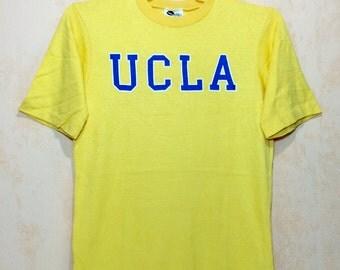 80s Vintage UCLA NCAA T-shirt Adult Medium Size Unworn