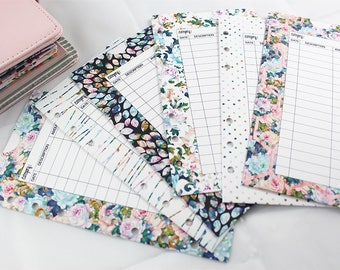ROSE GARDEN COLLECTION Planner Envelopes + Pockets | Budget Envelopes | Set of 6 | DreamPlanRepeat