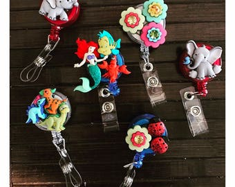Fun, Cute, & Unique Badge Reels / ID holders