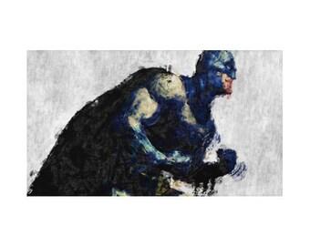 Batman Rug, 3 Designs, Hero Character, DC Comics, Geek Bedding, Children
