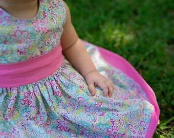 Party Dress (the Cottage Mama pattern)
