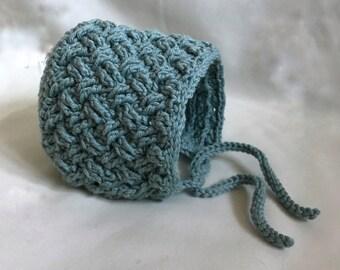 Crochet bonnet size newborn