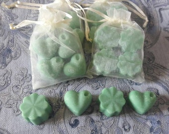 LIME highly scented soy wax melts, pack of 4