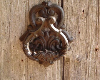 Vintage Cast Iron Door Knocker