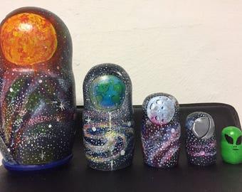 Galaxy Nesting Dolls