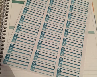 27 days of meal planning stickers Breakfast lunch dinner tea  Happy planner filofax