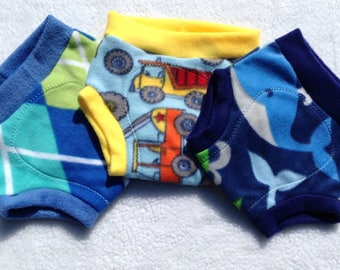 Fleece Diaper Cover - Boy Prints