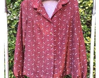 Vintage elegant blouse (blown)