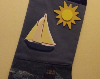 A SAILORS DELIGHT stocking