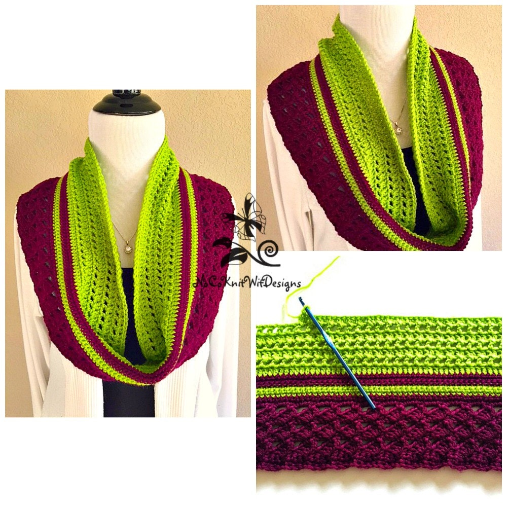 how to make a neck scarf