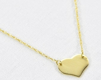 Mini Heart Necklace (was 120.00)