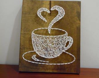 Coffee Wall Art coffee cup wall art | etsy