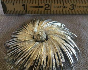 Pinwheel, Spinning Pin, Spiral Fun- Brooch
