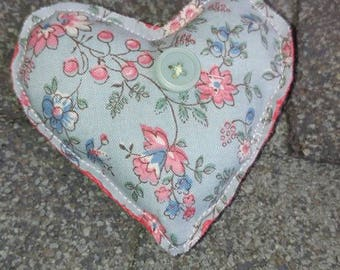 Stuffed Heart Pin