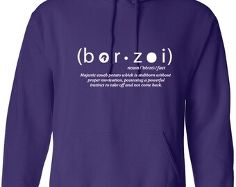 Borzoi hoodie/ Borzoi definition Unisex hoodie/Funny Borzoi hoodie/Gift for Borzoi lover/Russian Wolfhound/Sighthound hoodie