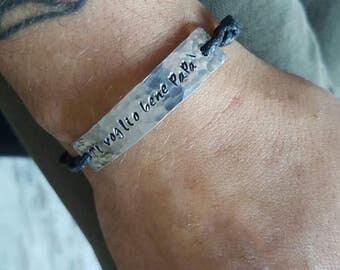 Personalized Bracelet, unisex