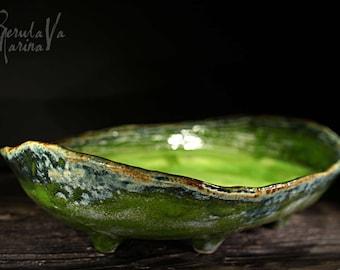 """Ceramic Fruit Bowl """"The wakening of spring"""""""