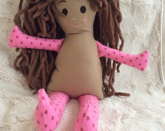 Handmade Soft Doll - custom