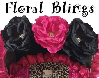 Add a Floral Bling to My Order, Floral Bling, Clip On Floral Bling, Add a Single Floral Bling to my order
