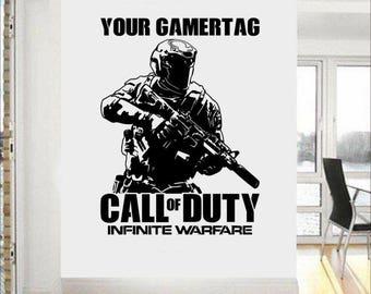 Call of duty infinite warfare wall art sticker