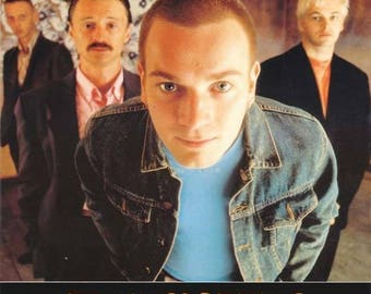 Trainspotting Film Review 1996 Rare Vintage Poster