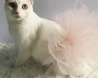 Soft Pink Cat Tutu