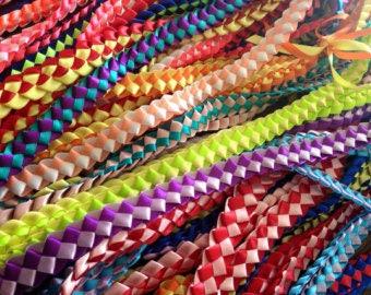Leialoha Single Ribbon Lei