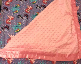 Adorable My Little Ponies Sheet/Blanket Set