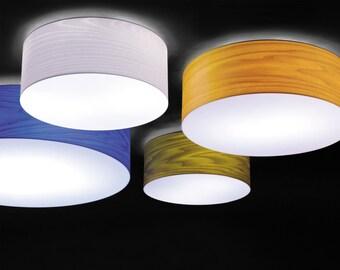Wood ceiling light - Rustic Chandelier Lighting - Wood veneer Lamps - Lighting Lamp Design