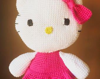 Hello kity handmade amigurumi