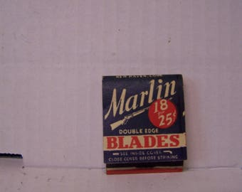 1940's Marlin Firearms Co. Book of Matches
