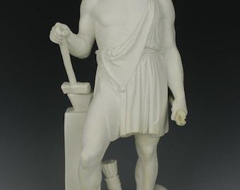 """Antique 19C Royal Copenhagen parian Figurine """"Hephaestus"""""""