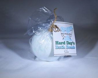 Hard Days Bath Bombs / Sore Muscles /Natural  Pain Relief / Relax it Away / Natural / Essential Oils / Dead Sea Salt
