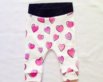 Organic Cotton Baby Girl Leggings