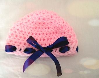 Pink Infant Hat