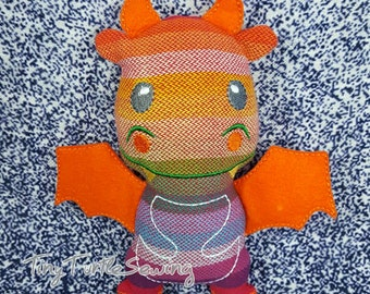Wrap Scrap Dragon - Girasol Rebel Rainbow Roho
