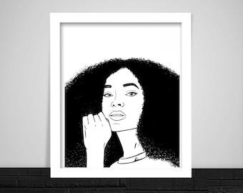 Solange Print