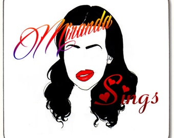 MIRANDA SINGS ART Beverage coaster