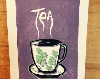 Tea Cup Print