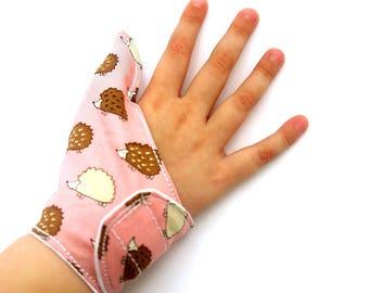 Thumb guard, overbite, malocclusion, stop thumb sucking,help children quit suck thumb, washable thumb glove