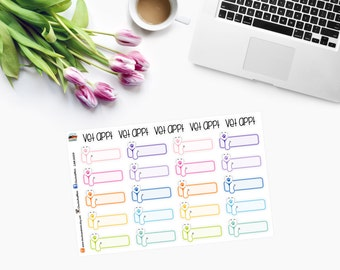 Pet VET APPOINTMENT Planner Stickers - CAM00219