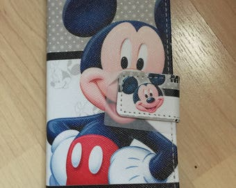 Disney Mickey Mouse PU Leather Case For Samsung Galaxy S8 / S8 Plus - Ship From NY