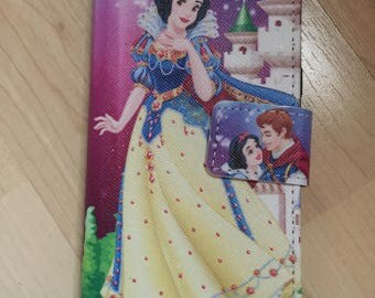 Disney Princess Snow White PU Leather Case For Samsung Galaxy S8 / S8 Plus - Ship From NY