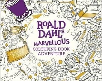 Roald Dahl's Marvellous colouring book adventure